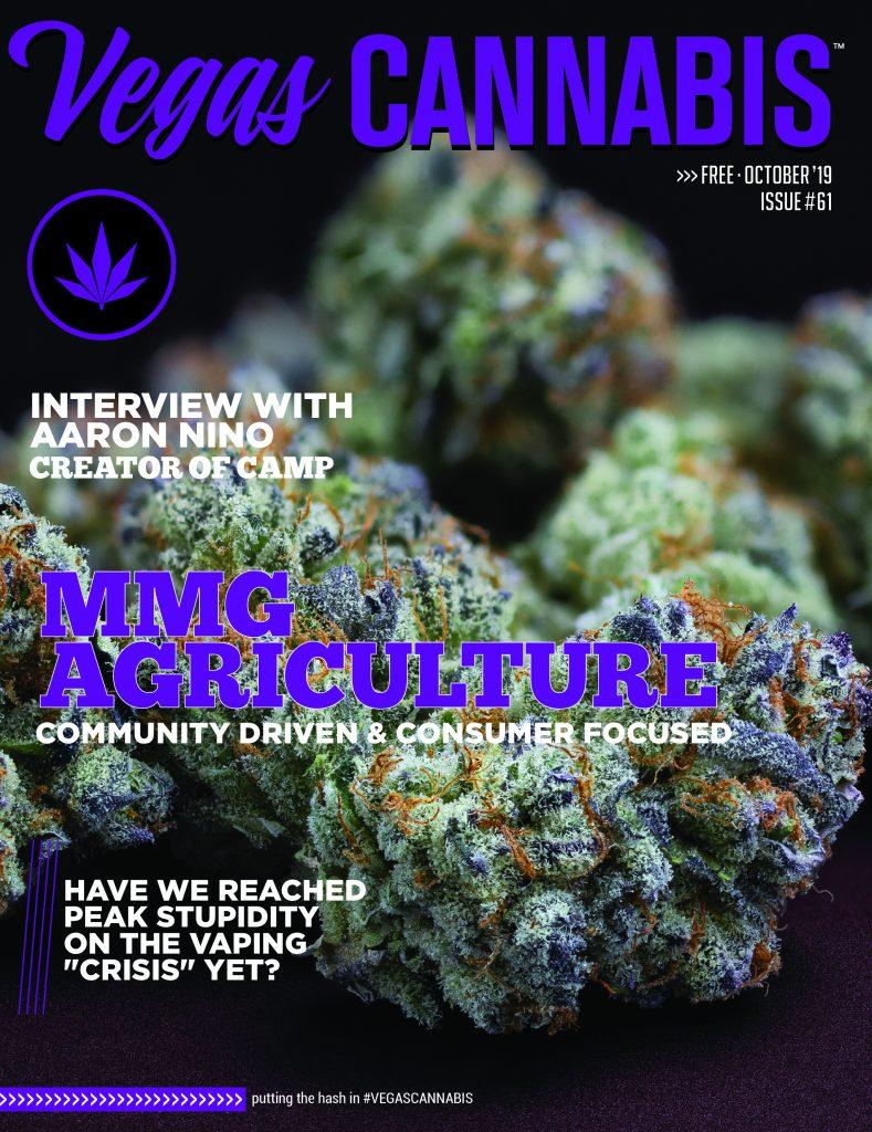 Angela Mazzanti Naked vegas cannabis magazine - october 2019 - issue 61 - vegas
